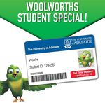 Students 10% off When You Spend $30 or More @ Woolworths (SA)