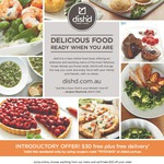 $30 off $50+ Order + Free Delivery @ Dish'd Food Store [MEL+SYD Only] - Ends 5pm Tomorrow