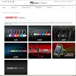 MEElectronics Sports Earphones - S6P - $28.94 USD Shipped or M6 - $21.94 USD Shipped