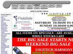 Logitech Harmony 525 $45 Instore or Delivered $59 - Ps3 Adapter $75 Del - Boom $149 Delivered
