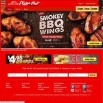 Any 2 Pizzas + 2 Sides from $30 Delivered @ Pizza Hut [ACT]
