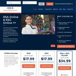 Online RSA or RSG Training for $17.99 @ Galaxy Training Australia (QLD/SA/WA/NT)