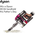 Win a Dyson DC34 from BIG W