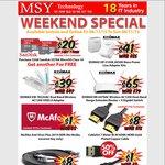 SanDisk 32GB Ultra Micro SDHC BOGOF $20 + More @ MSY