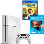 PlayStation 4 500GB (White) + Tearaway Unfolded + 3M Stan Bundle - $354.60 @ Target
