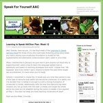 Speak for Yourself AND Proloquo2Go AAC Apps 50% off for Autism Awareness Day (2,3,4 April)