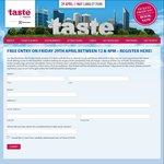 [WA] Free Entry to Taste of Perth Friday 29 April 12pm - 4pm