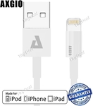 Axgio Apple MFI Certified Lightning Charge/Sync Cable $4.59 US (~$6.18 AU) Shipped @ TinyDeal