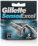 Authentic Gillette Sensor Excel Refill Razor Blade Cartridges (5-Pack) USD $3.96 (AUD $5.20) Delivered from FASTTECH
