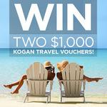 Win Two $1,000 Kogan Travel Vouchers
