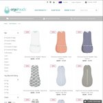 ergoPouch - 50% off Sale off Some Items - e.g ergoPouch Winter Sleepsuit Bag (2.5 Tog) - Red Arrow $42.48 down from $84.95