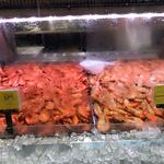 NSW: Prawns Aus Tiger Cooked Medium Fresh $12.99/KG and Extra Large Frozen $16.50/KG - Woolworths Granville