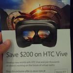 HTC Vive $1199 (Save $200) at Microsoft Store Sydney