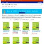 Buy 1, Save 35% | Buy 2, Save 40% | Buy 3+, Save 55% on Exam Prep Books and eBooks @ Microsoft Press Store