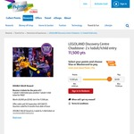 [Flybuys] LEGOLAND Discovery Centre Melbourne - 2 x 1 Adult & 1 Child Ticket for 11,500 Points (Normally 26,000 Points RRP $130)