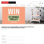 Win an INDUSTRIA-X Drinks Trolley Worth $990 from Godfrey Hirst
