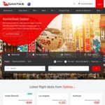 Sydney/Adelaide/Melbourne/ Canberra/Brisbane to Osaka (via Sydney) $699 Return Via Qantas (Dec-Mar)