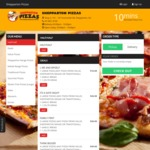Shepparton Pizza's Family First - 3 Large Pizzas (Any Pizza from Value, Shepparton Range or Traditional) - $36 [VIC]