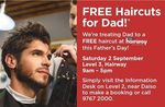 [VIC] Free Haircuts for Male Shoppers at Dandenong Plaza on Saturday 2 September (9am-5pm) - Bookings Required