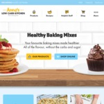 5% off Anna's Low Carb Kitchen Healthy Baking Range ($50 Spend Required, Receive Free Shipping)