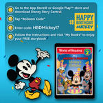 Free eBook Disney Mickey And Friends: Mickey's Birthday from Disney Story Central (iOS + Android)