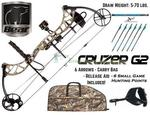 Bear Cruzer G2 Compound Bow Ultimate Hunting Package with FREE SHIPPING ($849.95 Save $200) @ Bow Evolution