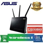 Asus RT-AC68U Dual Band Wireless AC1900 Gigabit Router $170.05 Delivered ($150.05 after Cashback) @ Wireless1 eBay