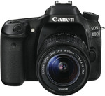 Canon 80D 18-55mm Single Lens Kit $932.90 @ The Good Guys (after $150 Canon Cashback)