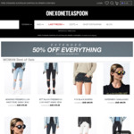 50% off Everything Online @ OneTeaspoon - Women's Jeans $75, Denim Shorts $49.50