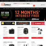 digiDIRECT Australia Day Sale (15% off Sony and Olympus / 10% off Nikon and Panasonic)