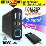 Crazy 10050mAh External Power Bank Dual USB Portable Battery Charger $20.76 @ Crazy Technology (eBay)