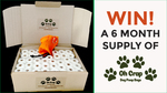 Win a 6 Month Supply of Eco-Friendly Oh Crap Dog Poop Bags
