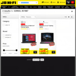 "Alienware 13 13.3"" Gaming Laptop $1678.60 (was $2398)  / Dell Inspiron 15 5000 15.6"" Gaming Laptop $1048 (was $1498) @ JB Hi-Fi"