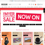 Myer Stocktake Sale Weekend Offers (10% off Apple Mac, 10% off Bose/Beats/Sonos)