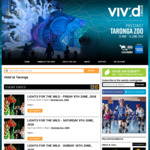 [NSW] 40% off Vivid Sydney at Taronga Zoo 12/6-14/6 via Moshtix