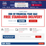 Free Standard Delivery for Online Orders at First Choice Liquor - $20 Minimum Spend