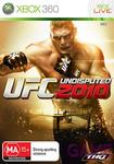 UFC Undisputed 2010 on Xbox 360 only $18 from Game (Free Postage) Reduced from $109 Great Deal