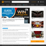 Win 1 of 3 Shopping Credits ($500/$250/$100) from Fanatical