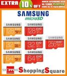 Samsung EVO Plus MicroSD 256GB $83.95 Delivered @ Apus Express eBay