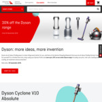 30% off Dyson Products at Qantas Store