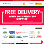 50% off Storewide (Free Shipping on Orders over $30) @ The ABC Shop