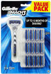 Gillette MACH3 Turbo Razor with 13 Cartridges Set $19 + Delivery (Free with Shipster if over $25 Spent, i.e. 2 for $38) @ Kogan