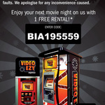 One Free Overnight Movie Rental @ Video Ezy Express Kiosks