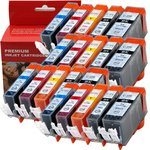 Canon Pixma Compatible Ink Cartridges 20pc Set $27.84 + Delivery (Free with Prime/ $49 Spend), Amazon USA via Amazon Au