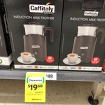 [NSW] Caffitaly Milk Frother $19.60 (Was $49) @ Woolworths, Byron Bay