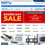 Spend $100 or More to Get 20% off Any Non-Discounted Items @ Selby Acoustics