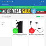 Wireless1 EOY Sale 15% off (Selected Items): NVIDIA Shield $220, TP-Link Powerline $106.31 (+ $40 GC), Msi GT63 i7 $2719 & More