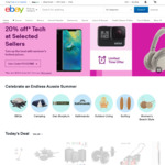 $10 off Minimum $20 Spend on eBay
