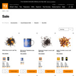 Free Shipping Sitewide (Valentines Special) @ T2 Tea