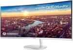 "Samsung LC34J791WTE 34"" 100hz Ultra-WQHD 4ms Curved VA QLED Monitor w/ Thunderbolt 3 $959 + Shipping (Was $1299) @ Mwave Aus"
